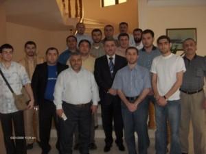 Azərbaycan səfirliyində (Mart 2008, Kuveyt)
